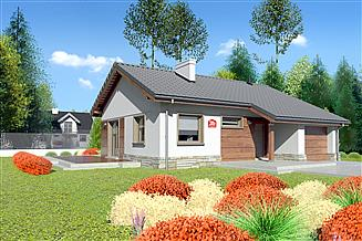 Projekt domu Dom przy Przyjemnej 3 bis