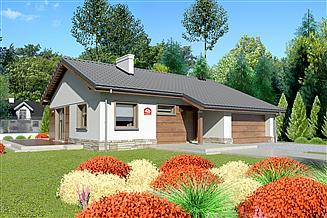 Projekt domu Dom przy Przyjemnej 4 bis