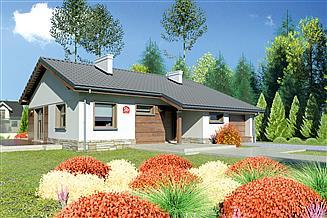 Projekt domu Dom przy Przyjemnej 5 bis
