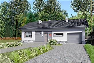 Projekt domu Dom przy Przyjemnej 9 bis