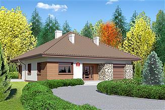 Projekt domu Dom przy Rubinowej 2