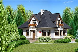 Projekt domu Dom przy Sielskiej 2