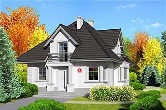 Projekt domu Dom przy Sielskiej 3