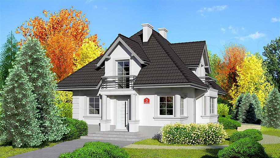 Projekt Dom Przy Sielskiej 3 12217 M2 Koszt Budowy Extradom