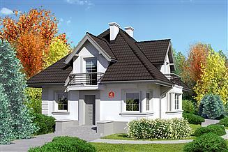 Projekt domu Dom przy Sielskiej 4
