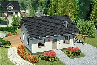 Projekt domu Dom przy Topolowej 2