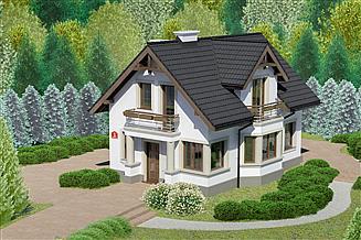 Projekt domu Dom przy Waniliowej