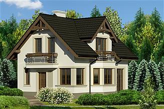 Projekt domu Dom przy Waniliowej 2