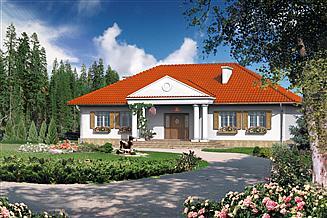 Projekt domu Dom przy Zamkowej