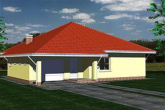 Projekt domu DOM 111