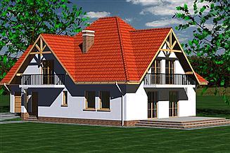 Projekt domu DOM 206