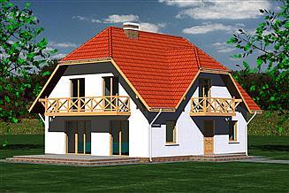 Projekt domu Dom 210