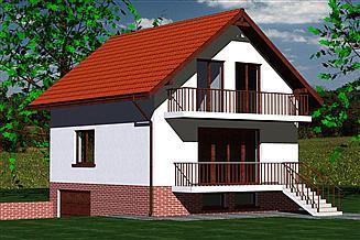 Projekt domu DOM 212