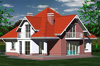 Projekt domu DOM 215