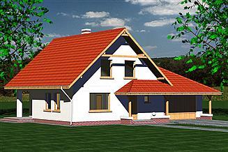 Projekt domu DOM 216