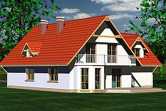 Projekt domu DOM 231