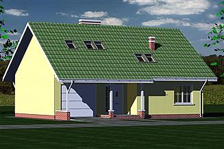 Projekt domu DOM 243