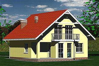 Projekt domu Dom 245