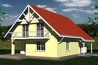 Projekt domu DOM 255