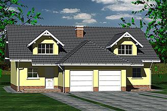 Projekt domu DOM 605