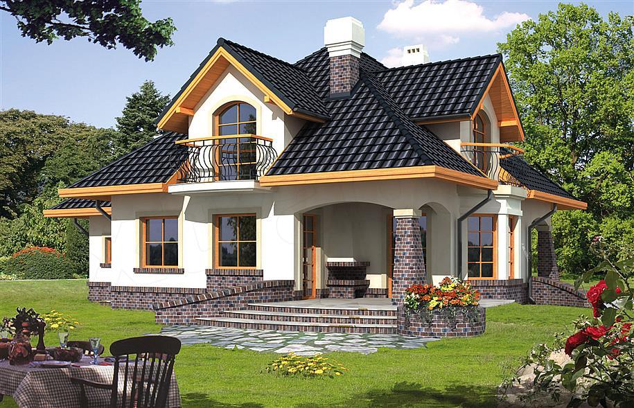 Projekt Domu Ariadna I 1359 M2 Koszt Budowy 246 Tys Zł Extradom