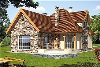 Projekt domu Brygida