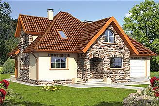 Projekt domu Brygida III