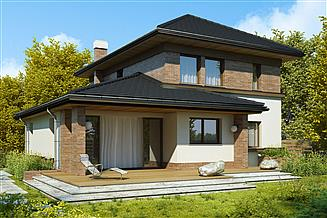 Projekt domu Memfis