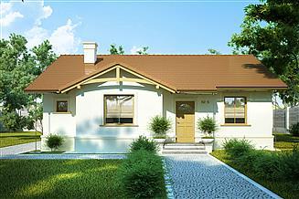 Projekt domu Słoneczko II
