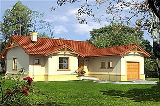 Projekt domu Słoneczko III