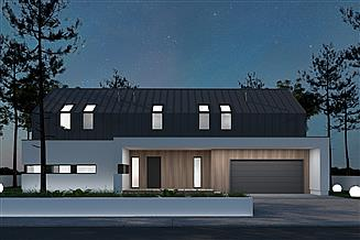 Projekt domu A-33