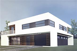 Projekt domu B-55