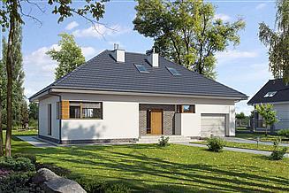Projekt domu E-117