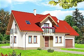 Projekt domu Parys