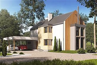 Projekt domu D164