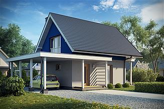 Projekt domu D157