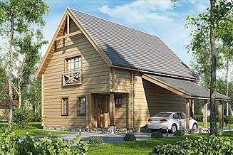 Projekt domu D121