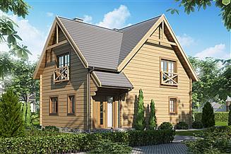 Projekt domu D116