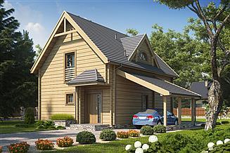 Projekt domu D134