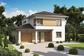 Projekt domu D87