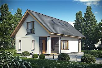 Projekt domu D143B