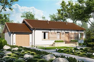 Projekt domu D19A - Karol A