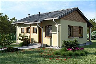 Projekt domu D20 - Kazimierz
