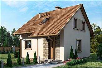 Projekt domu D21 - Piotruś