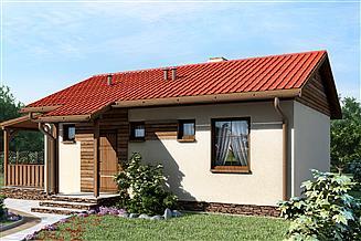 Projekt domu D103 - Lidia