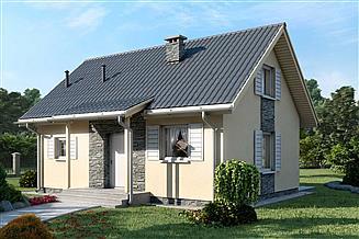 Projekt domu D67 - Paulinka