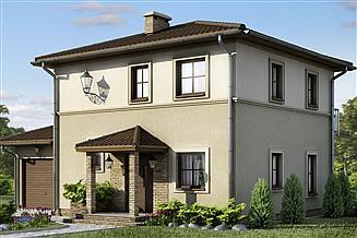 Projekt domu D28 - Łucja