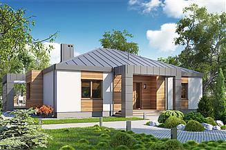 Projekt domu D123 - Zbyszek