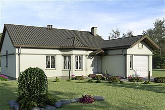 Projekt domu D90 - Leon