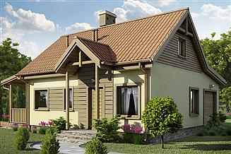 Projekt domu D54 - Olaf